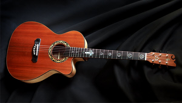 Custom Handmade Grand Auditorium Acoustic Guitar