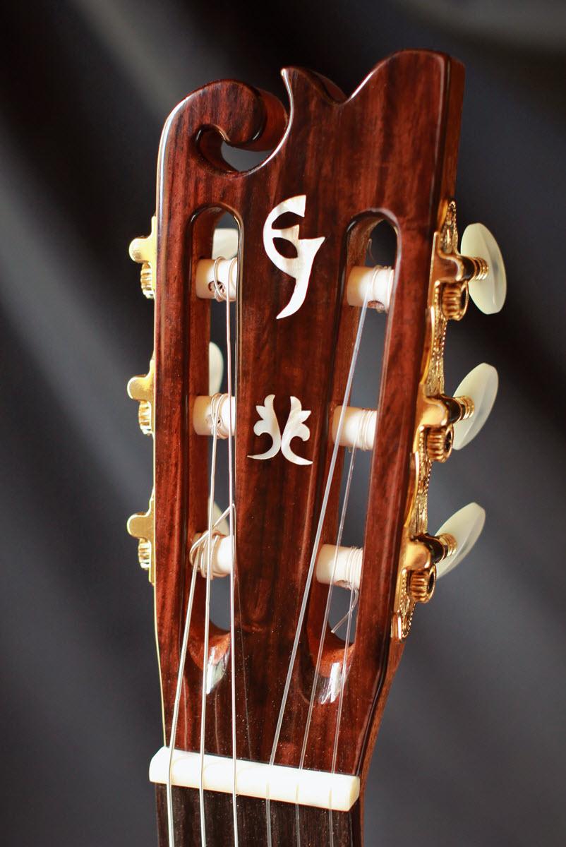 classical guitars custom handmade elijah jewel guitars. Black Bedroom Furniture Sets. Home Design Ideas