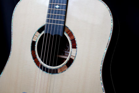 Custom Handmade Dreadnought Acoustic Guitar