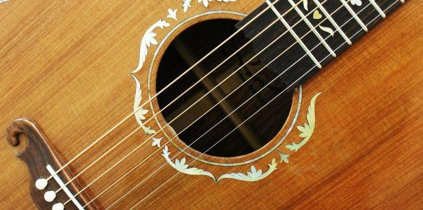 Custom Handmade Dreadnought Acoustic Guitar (Redwood)