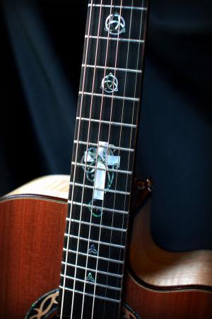 Custom Handmade Grand Auditorium Acoustic Guitar