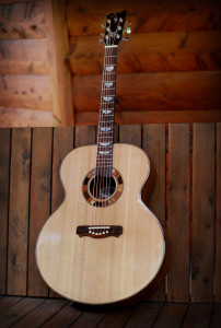 Custom Jumbo Acoustic Guitar
