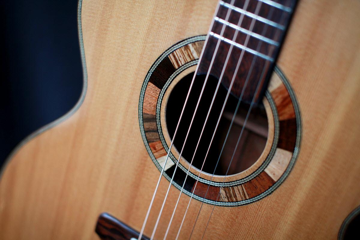 Jumbo Guitars Custom Handmade Elijah Jewel Guitars