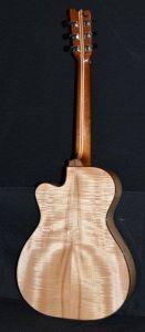 Custom Handmade Grand Auditorium Acoustic Guitar with Venetian Cutaway