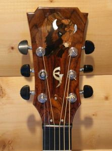 Custom Handmade Jumbo Acoustic Guitar (Buffalo)